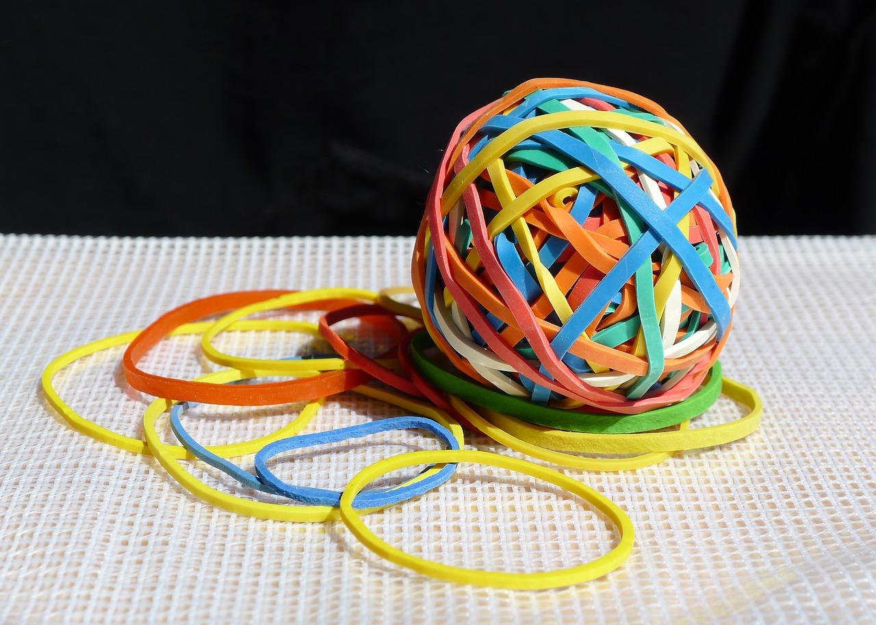 rubber band technique
